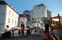 Historical event at Ľupča Castle